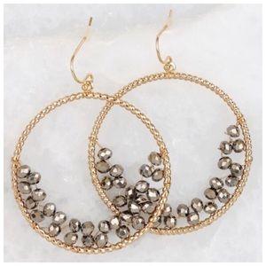 Jewelry - 🆕 Glass Beaded Hook Earrings